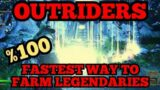 Outriders The FASTEST Way EVER To Farm Legendary Gear (Eye Of The Storm Expedition Finished In 1:23)