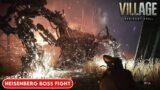 RESIDENT EVIL VILLAGE Heisenberg Transformation & Boss Fight (RE8 PS5)