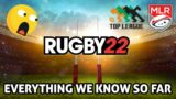 RUGBY 22   Everything We Know So Far! // NEW RUGBY VIDEO GAME!