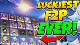 Reviewing The LUCKIEST F2P Account EVER | Genshin Impact