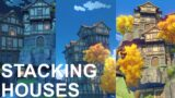 Stacking Houses Using The New Housing System in Genshin Impact