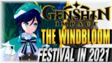 THE WINDBLOOM FESTIVAL IN 2021!! | Genshin Impact | [WindBloom Event] [GameModes]