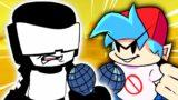 Tankman V.S Boyfriend in Friday Night Funkin' VR – (VRChat: Rap Battle – Ugh, Stress)