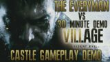 The Everyman Plays the Resident Evil Village (8) 30 Minute Castle Gameplay Demo on PS5 4K