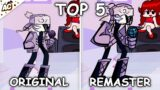 Top 5 Original VS Remaster Skins – Friday Night Funkin'
