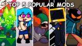 Top 5 Popular Mods – Friday Night Funkin'