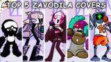Top 5 Zavodila Covers – Friday Night Funkin'