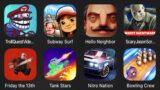 Troll Quest Video Games 2,Subway Surfers,Hello Neighbor,Scary Jason Scream Horror Game,FridayThe13th