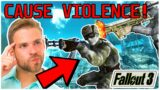 VIDEO GAMES CAUSE VIOLENCE?? They don't but who the heck CARES!