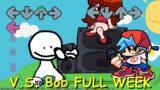 V.S. Bob FULL WEEK – Friday Night Funkin