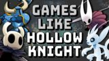 Video Games like Hollow Knight (Hollow-likes)   Platformer Game Design