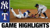 Yankees vs. Rangers Game Highlights (5/18/21) | MLB Highlights