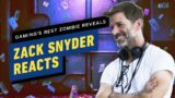Zack Snyder Reacts to Best Zombie Reveals in Games