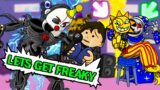 this SECRET FNAF LEVEL is SUS! (Security Breach in Friday Night Funkin)