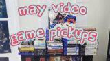 May 2021 Video Game Pickups!