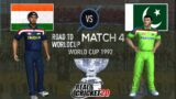 #4 India vs Pakistan – 1992 Road to World Cup – Real Cricket 20 Live Stream