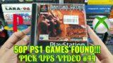 50p PS1 Games found!!! Gurnaldinho's Video Game Finds #44, Pick ups!