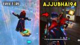 AJJUBHAI AND AMITBHAI AWM OVERPOWER GARENA FREE FIRE GAMEPLAY #6
