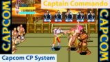 Captain Commando – Capcom CP Arcade System – CPSTRAVAGANZA – MiSTer FPGA