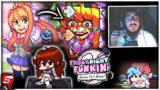 FNF VS MONIKA (Full Week) is AMAZING! (Friday Night Funkin VS MONIKA FULL WEEK CUTSCENES & ENDING)