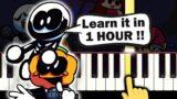 Friday Night Funkin – South – EASY Piano tutorial