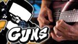 Friday Night Funkin' – Guns [Guitar Cover]