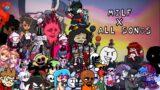 Friday Night Funkin' | Milf X All songs! {Kapi update, Piconjo…} (Part 13)