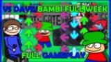 Friday Night Funkin'   VS Dave/Bambi Full Week [Full Gameplay]
