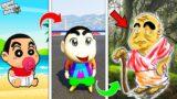 GTA 5 : Baby Shinchan Become Big Shinchan & Old Shinchan in GTA 5 ! (GTA 5 mods)