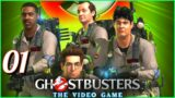 Ghostbusters: The Video Game Remastered Walkthrough Gameplay Part 1 I'm Not Afraid(PS4)