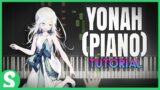 """How to play """"YONAH"""" from NeiR: RepliCant/Gestalt   Smart Game Piano   Video Game Music"""