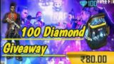 Lite Gaming – 100 diamond giveaway | Free Fire live stream #3