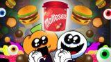 Maltesers Food Challenge (feat.Skid and Pump, Lila) -FNF MUKBANG ANIMATION