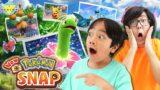 New Pokemon Snap! Let's Play Ryan Vs  Daddy