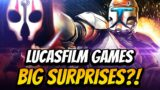 New Star Wars Games and Surprises at E3 2021! What to Look Out For from Lucasfilm Games!