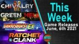 New Video Games June 2021 – Final Fantasy 7, Chivalry 2, Ratchet & Clank