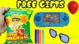 OMG Got Video Game, Goggles & Pen Inside Little Singham ka Inami Dhamaka   Free Gift Inside