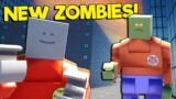Spycakes & I Defeat the Upgraded NEW ZOMBIES in the Brick Rigs Update!