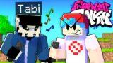 Tabi Ex-Boyfriend vs Boyfriend in Friday Night Funkin Minecraft! (FNF Mods)