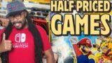 This Half Price books had Retro Videos Games Cheap