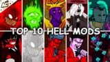 Top 10 Hell Mods – Friday Night Funkin' – FNF Mods Showcase