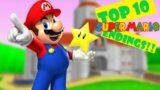 Top 10 Super Mario Endings (Spoilers alert!)