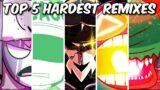 Top 5 Hardest Remixes Compilation – Friday Night Funkin'