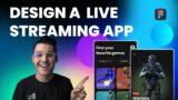 Video Game Streaming UI Design | Figma UI Design