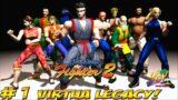 Virtua Legacy! Virtua Fighter 2! Sega Saturn Part 1 – YoVideogames