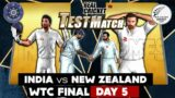 Winner of WTC Final is ???  : Day 5 – India vs New Zealand Real Cricket 20 Expert Mode 2021