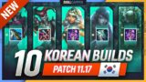 10 NEW OP KOREAN Builds to CLIMB FAST in PATCH 11.17 – League of Legends