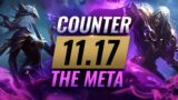 COUNTER THE META: How To DESTROY OP Champs for EVERY Role – League of Legends Patch 11.17