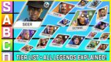 Apex Legends Season 10 Tier List | Plus All Character Abilities Compared & Explained!