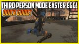 Apex Legends Third Person Mode Easter Egg Guide #shorts